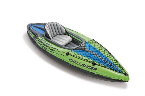 kayak intex challenger k1 intex kajak challenger k1 eenpersoons set rubberboot expert