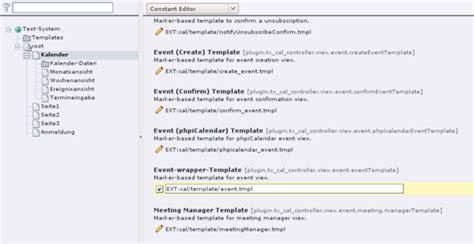 Typo3 Calendar Extension Typo3 Extension Cal Debacher Wiki