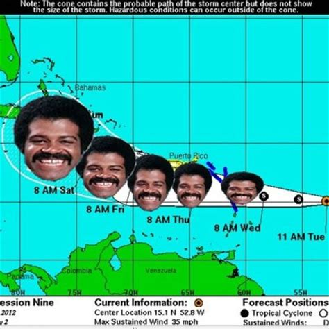 isaac from love boat meme here comes hurricane isaac the american conservative