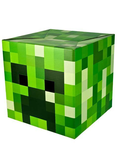 minecraft green creeper head minecraft accessories video game accessories