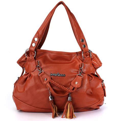 Tote Bag Pu Leather Import pu leather tassel handbag shoulder crossbody bag tote purse new fashion ebay