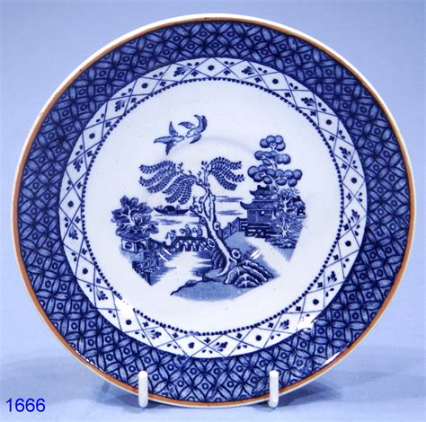 willow pattern image booths willow pattern antique bone china tea saucer