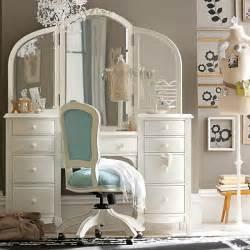 Awesome White Bedroom Decor Inspiration #5: Vanity-teenage-girls-rooms-1.jpg