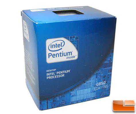 Intel I3 2100 Tray Processor intel pentium g850 bridge 2 9ghz cpu review legit