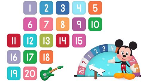 numbers clipart clipart of numbers 1 20 101 clip