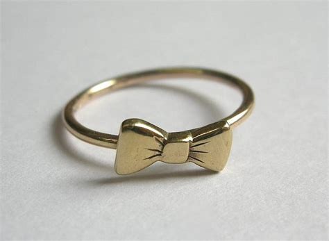 bow tie ring by becca jewellery notonthehighstreet