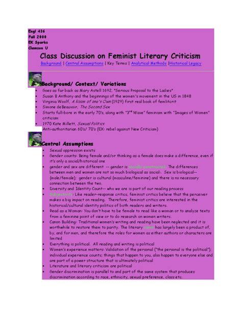 feminist literary theory third 1405183136 feminist literary criticism