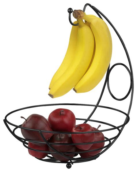 banana tree fruit bowl home basics black fruit bowl with banana tree