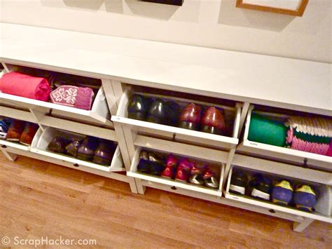 ikea shoe rack hack the bespoke ikea hemnes shoe cabinet