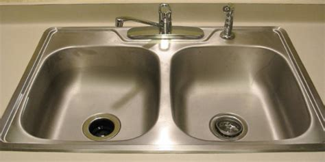 how to clean a kitchen sink clean your kitchen sink groomed home