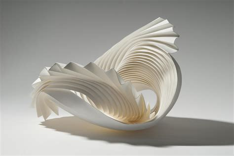 Origami Sculpture - intricate modular paper sculptures by richard sweeney