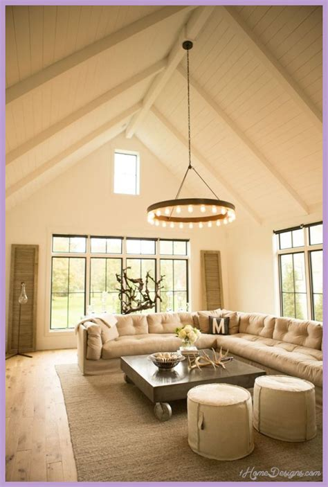 bedroom lighting ideas vaulted ceiling 1homedesigns