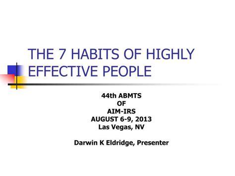 The 7 Habits Of Highly Ppt The 7 Habits Of Highly Effective Powerpoint Presentation Id 5823693