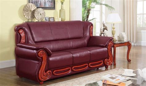 burgundy leather sofa living room furniture burgundy sofa set ufe norton burgundy faux leather 3 piece