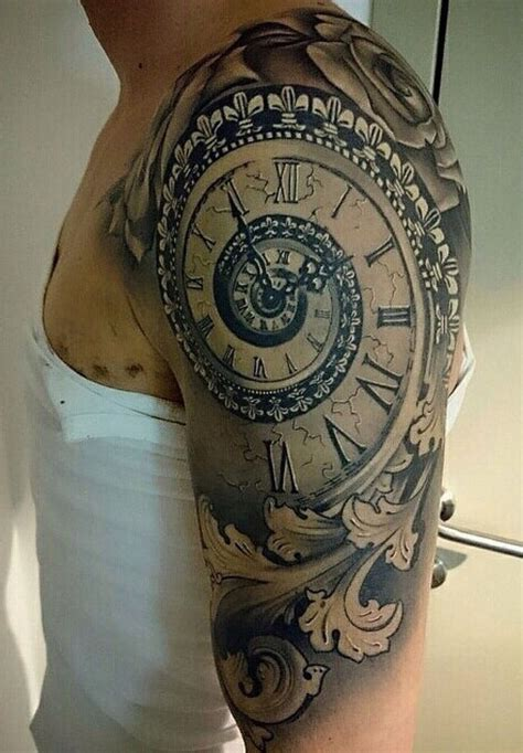 time clock tattoo designs best 25 time clock ideas on clock