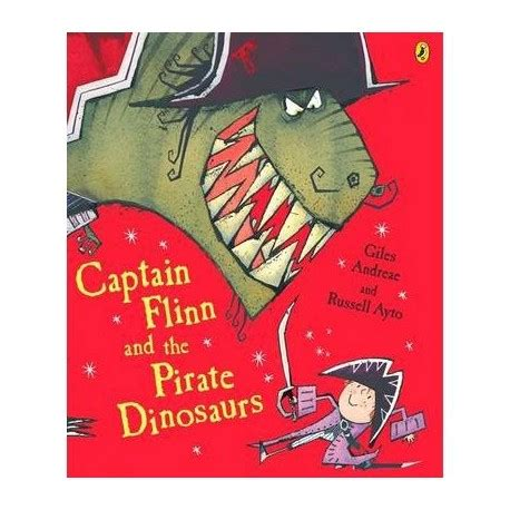 libro english captain captain flinn and the pirate dinosaurs english wooks