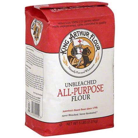king arthur unbleached all purpose flour 5 lb pack of 8