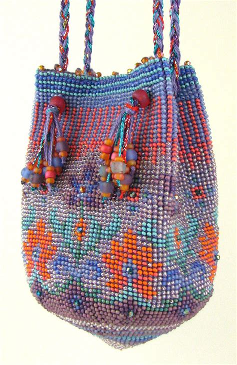 crochet beaded bag pattern caprice bead crochet purse instant pdf pattern