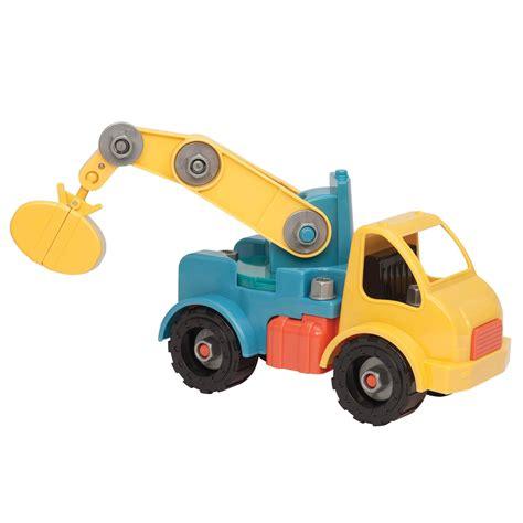 Puzzle Equipment Toys Toys battat take a part vehicle crane model