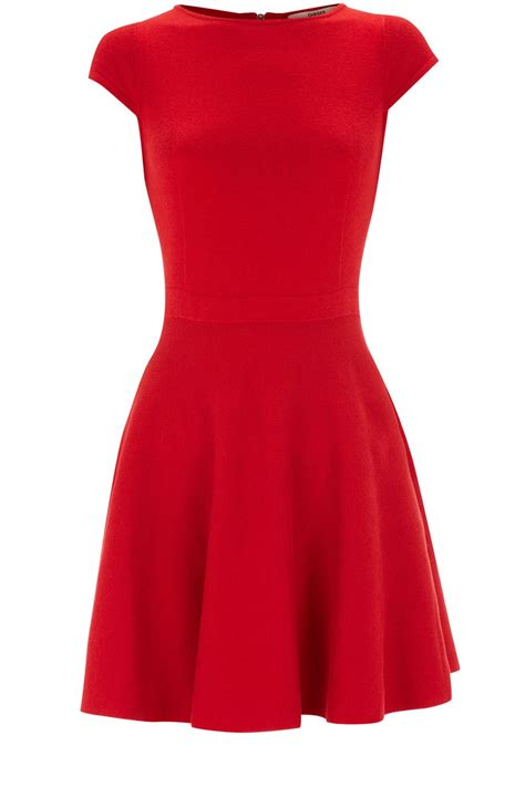 Dress Flare An oasis fit and flare dress in lyst
