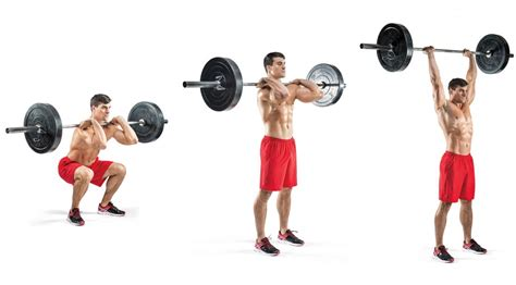 the thruster workout fitness