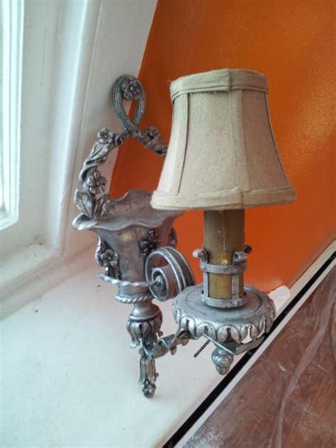 Chandelier With Matching Wall Sconces Electric Mfg 1925 Chandelier Matching Wall Sconces