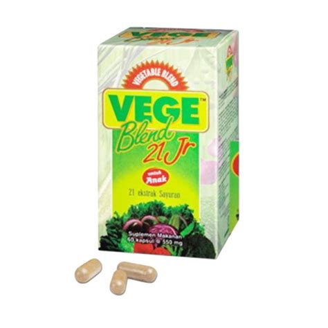 Vitamin Vegeblend Junior Jual Vegeblend 21 Jr Multivitamin Suplemen Kesehatan 60