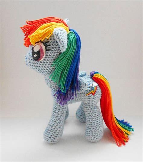 Amigurumi Pattern My Little Pony | my little pony amigurumi pattern by jasmine crabtree my