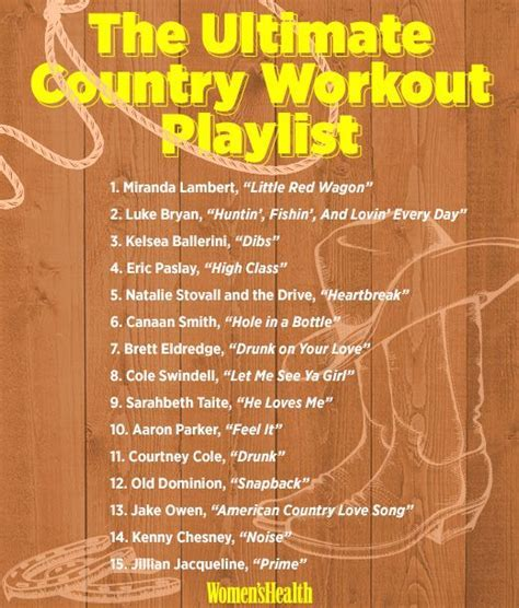25  best ideas about Country playlist on Pinterest