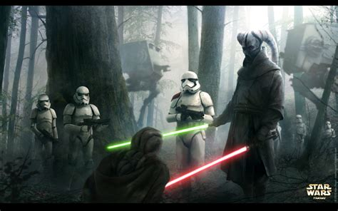 Lost Duel Star Wars Fanart By M Hugo On Deviantart