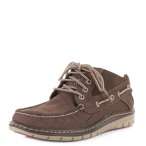 sperry boots mens mens sperry billfish ul chukka brown ultralite nubuck
