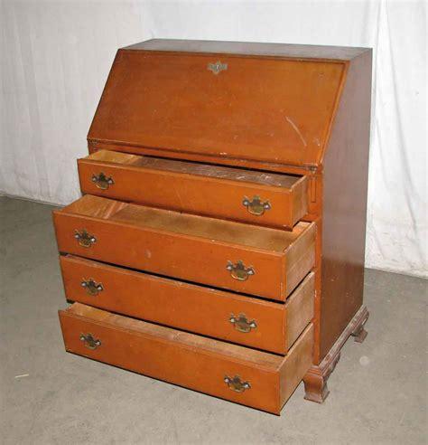 vintage maple secretary desk vintage maple secretary desk olde good things