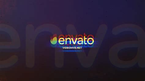 envato ae templates glitch logo reveal abstract envato videohive after