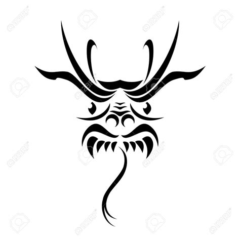 dragon face tattoo designs 32 simple tribal tattoos