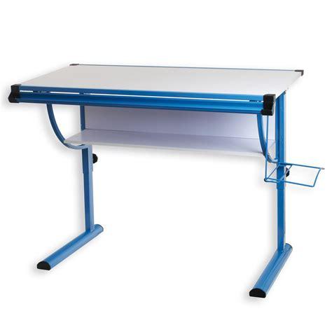 hauteur bureau enfant bureau enfant blue r 233 glable en hauteur et plateau