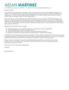 Hotel General Manager Cover Letter by Best Admin General Manager Cover Letter Exles Livecareer