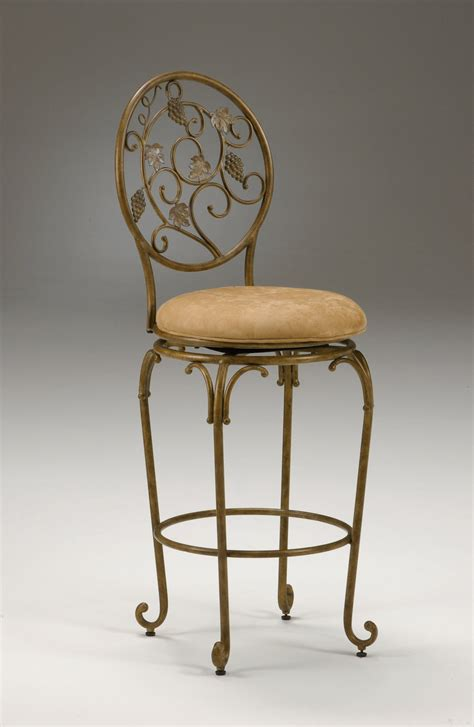 Gold Swivel Bar Stool by Gold Swivel Counter Height Kitchen Barstool