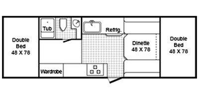 trailmanor floor plans 2011 trailmanor m 2619 specs and standard equipment