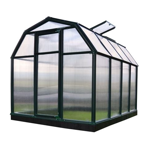 palram snap and grow 6 ft x 8 ft silver polycarbonate