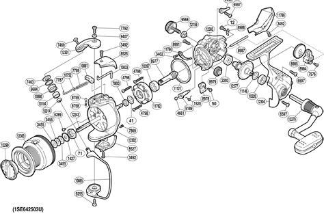fishing reel parts diagram vintage shakespeare reel schematics vintage shakespeare