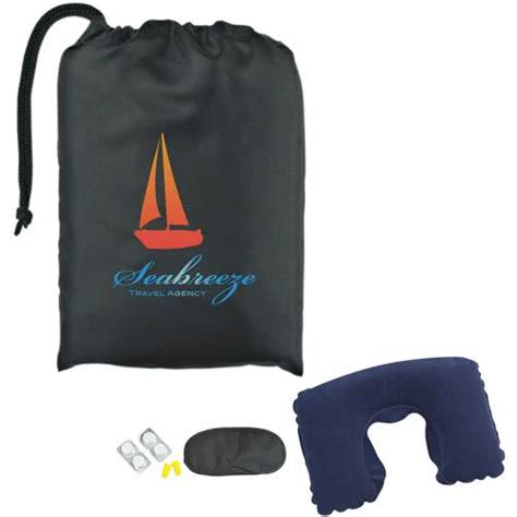 travel comfort items promotional travel comfort kits with custom logo for 2 36 ea
