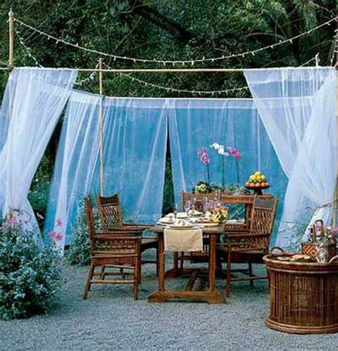 gazebo drapes elizahittman outdoor canopy curtains patio pizazz