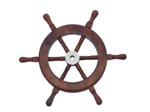 Wooden Steering Wheels For Boats Wholesale Deluxe Class Wood And Brass Ship Wheel 9 Quot Model