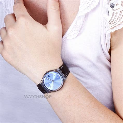 unisex swatch blue choco gm415 shop com