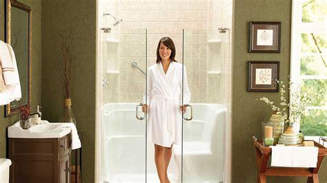 bath to shower easycare bath showers bathroom remodel