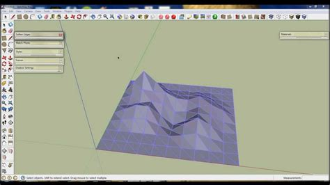 google sketchup castle tutorial google sketchup sandbox tutorial youtube