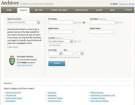 Best Free Search Web Best Free Genealogy Search Websites Digital Trends