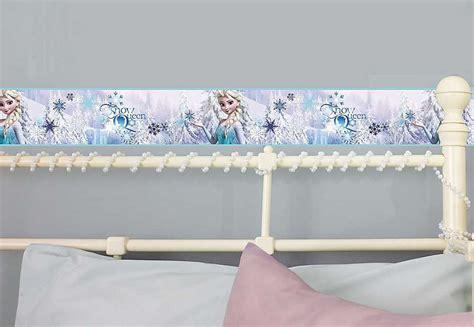 frozen wallpaper border disney frozen wallpaper border girls ice blue bedroom