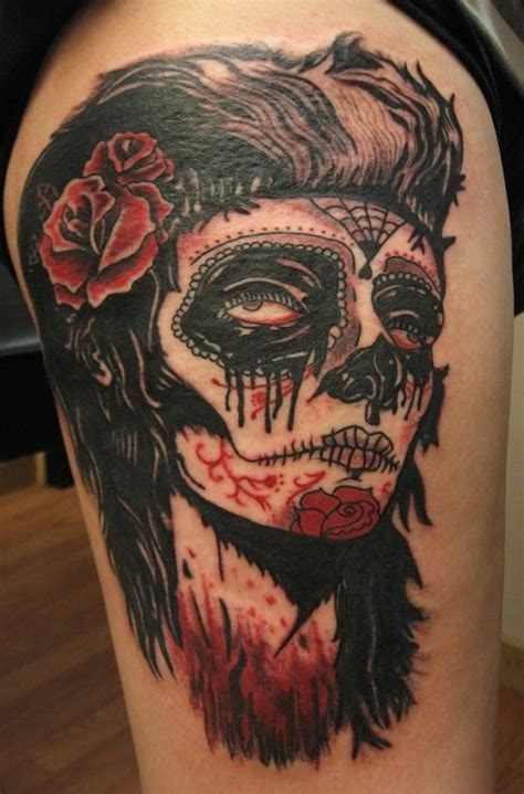 day of the dead couple tattoo 166 best day of the dead tattoos