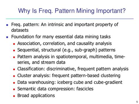 frequent pattern mining web log data data mining concepts and techniques chapter 6 mining